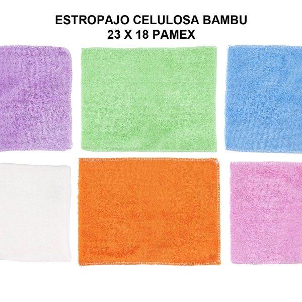 ESTROPAJO CELULOSA BAMBU 23 X 18 PAMEX