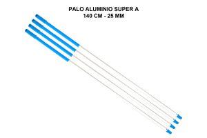 PALO ALUMINIO SUPER A 140 CM - 25 MM