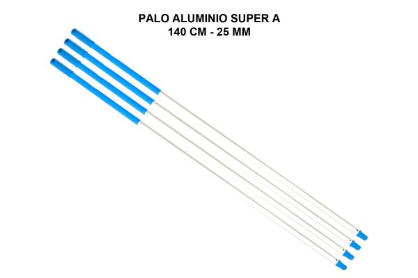 PALO ALUMINIO SUPER A 140 CM - 25 MM