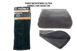 PAÑO MICROFIBRA ULTRA PAMEX CAR 45X40 CM