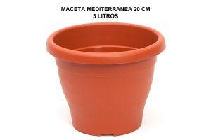 MACETA MEDITERRANEA 20 CM P