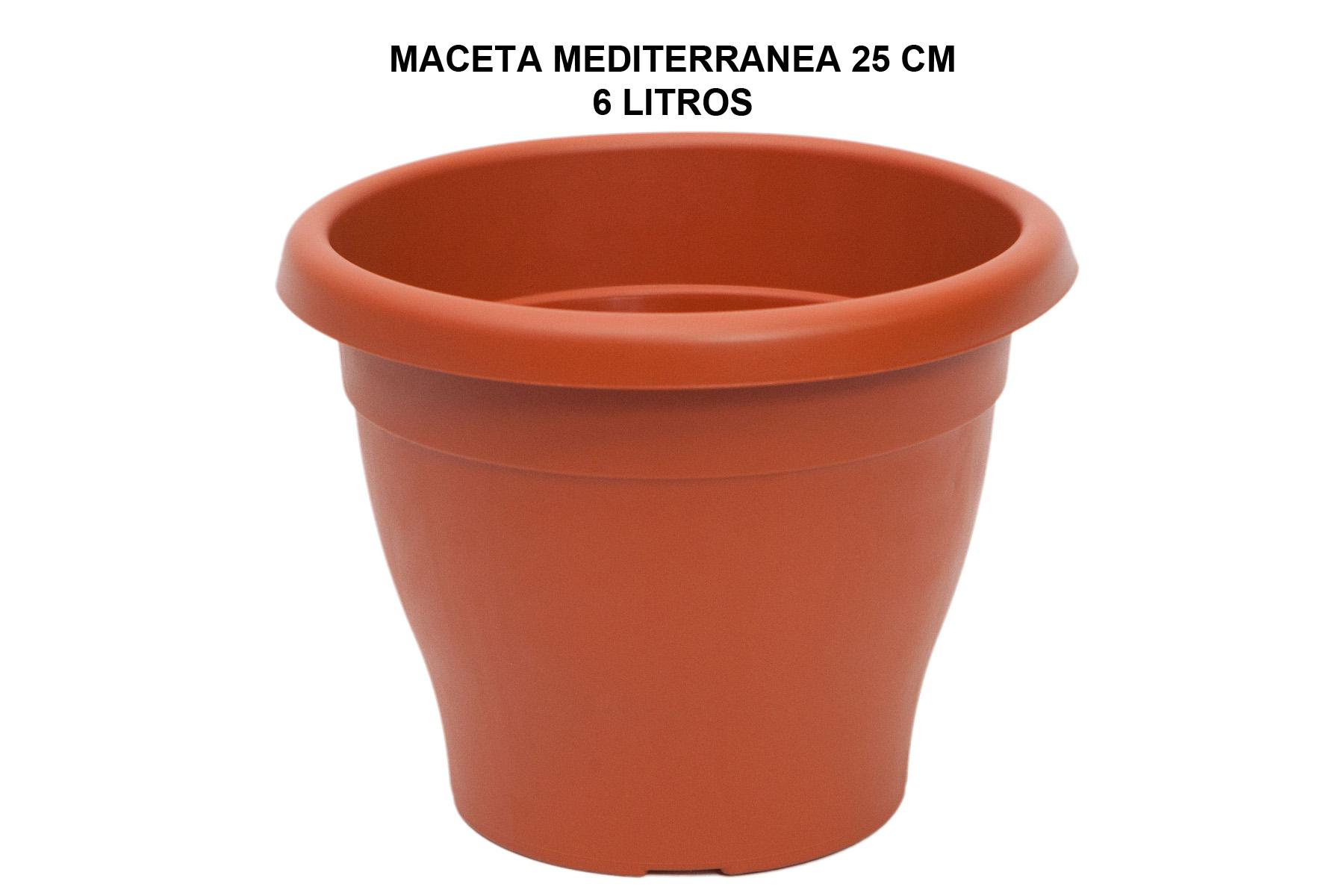 MACETA MEDITERRANEA 25 CM P
