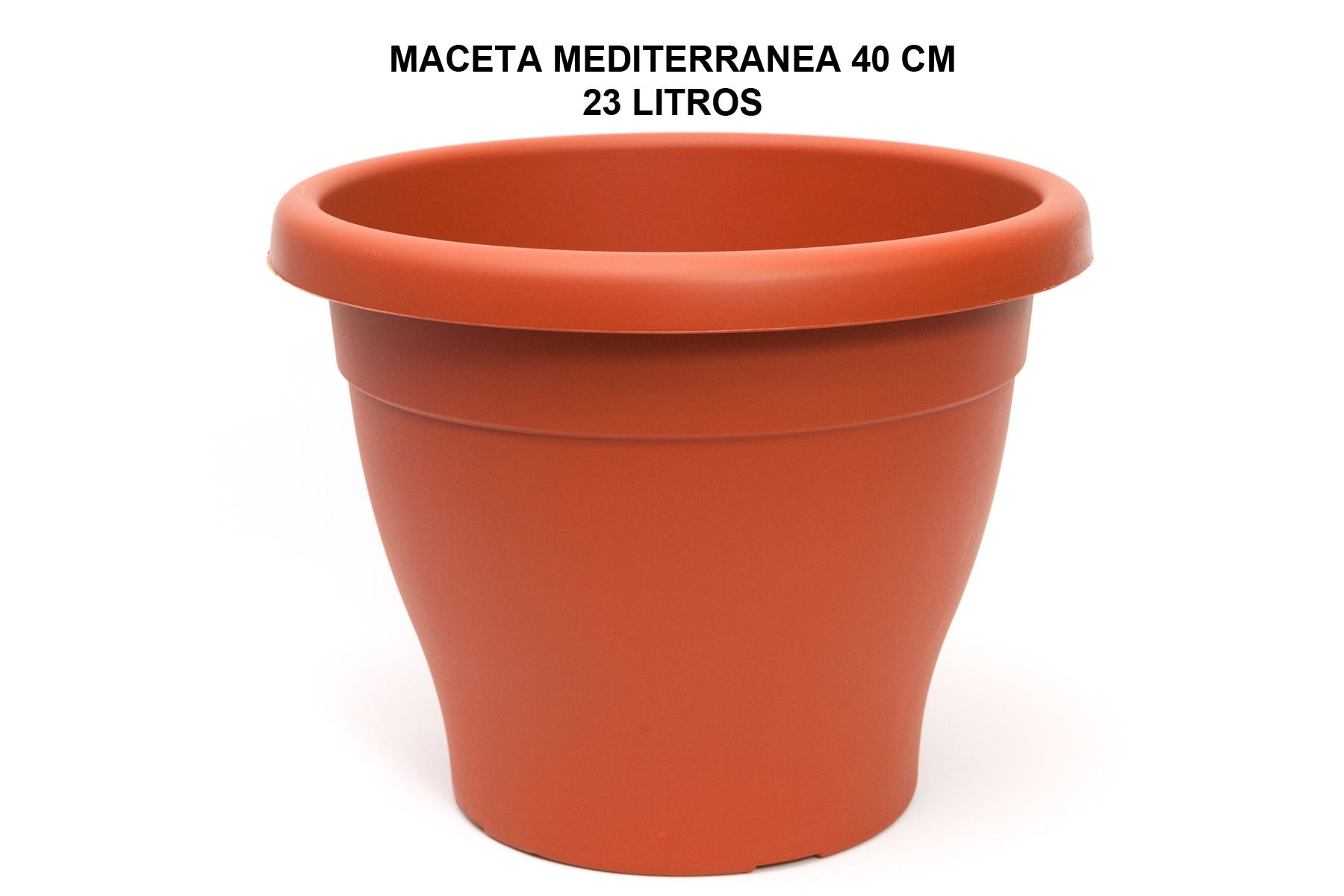 MACETA MEDITERRANEA 40 CM P