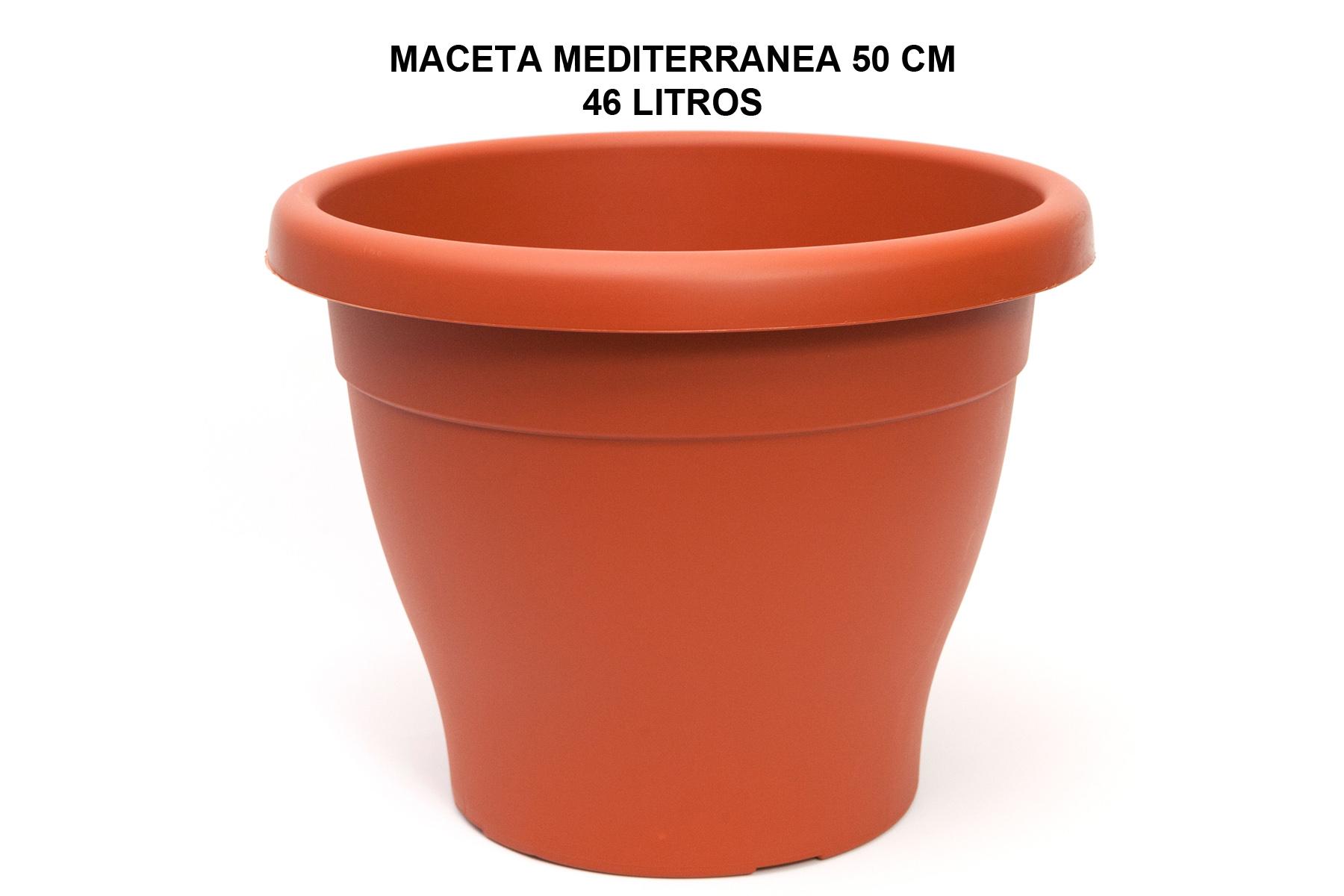 MACETA MEDITERRANEA 50 CM P