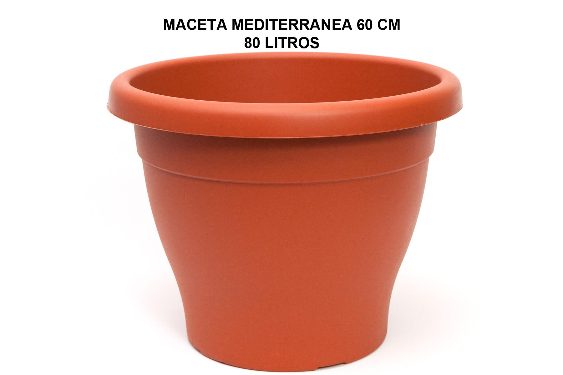 MACETA MEDITERRANEA 60 CM P