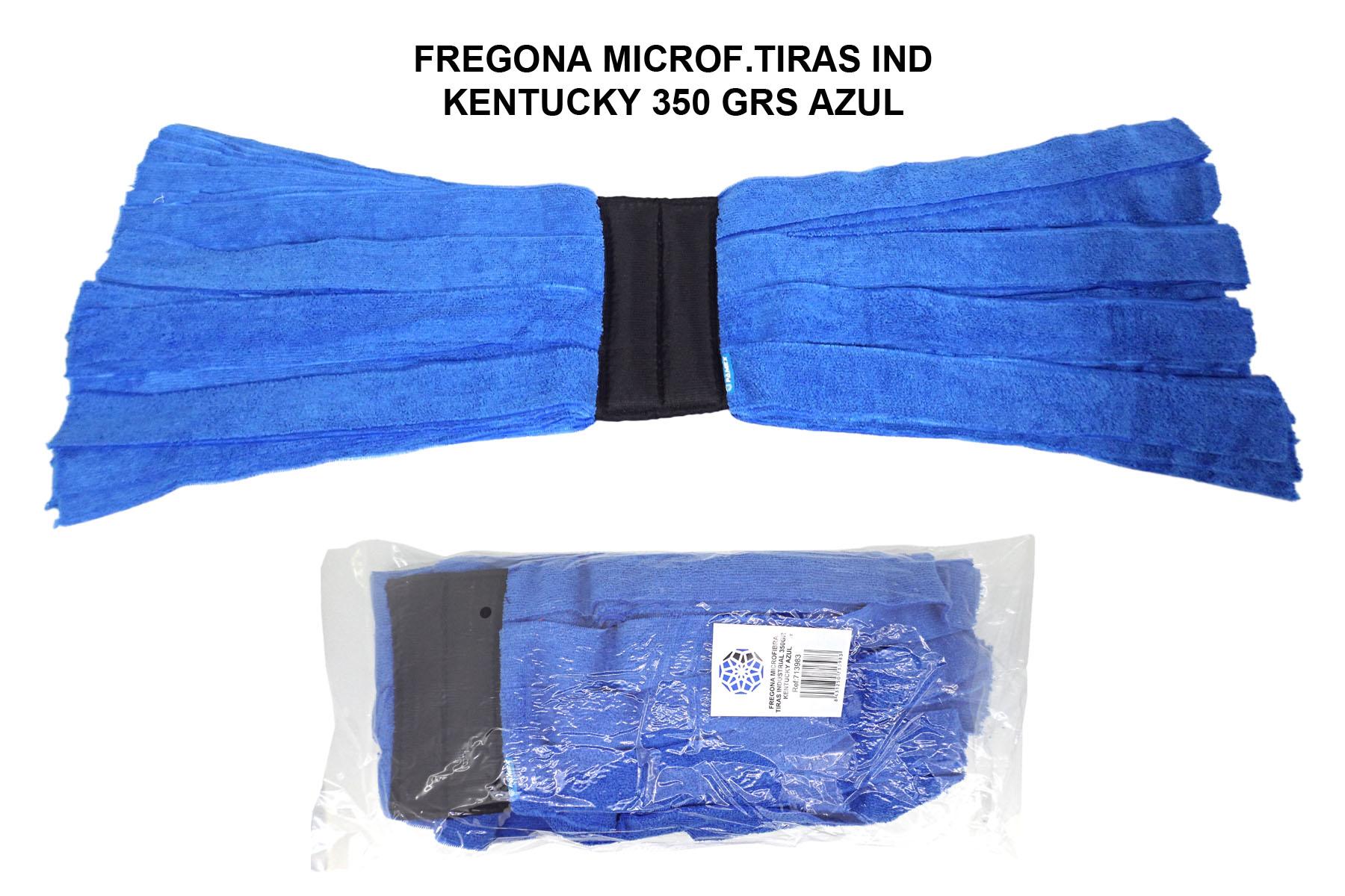 FREGONA MICROF.TIRAS IND KENTUCKY 350 GRS AZUL