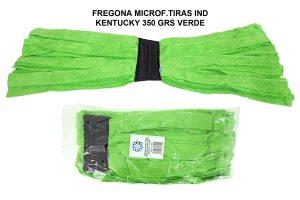 FREGONA MICROF.TIRAS IND KENTUCKY 350 GRS VERDE