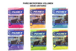 PAÑO MICROFIBRA VOLUMEN 30X40 UNITARIO