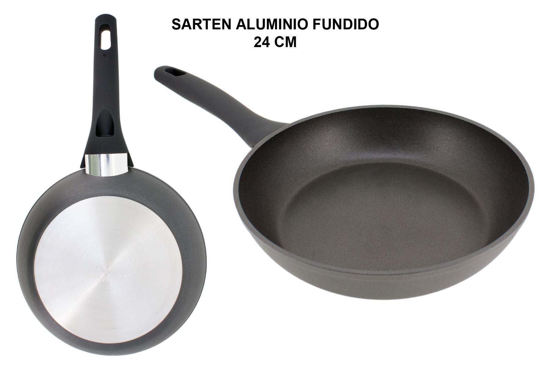SARTEN ALUMINIO FUNDIDO FULL INDUCTION 24 CM