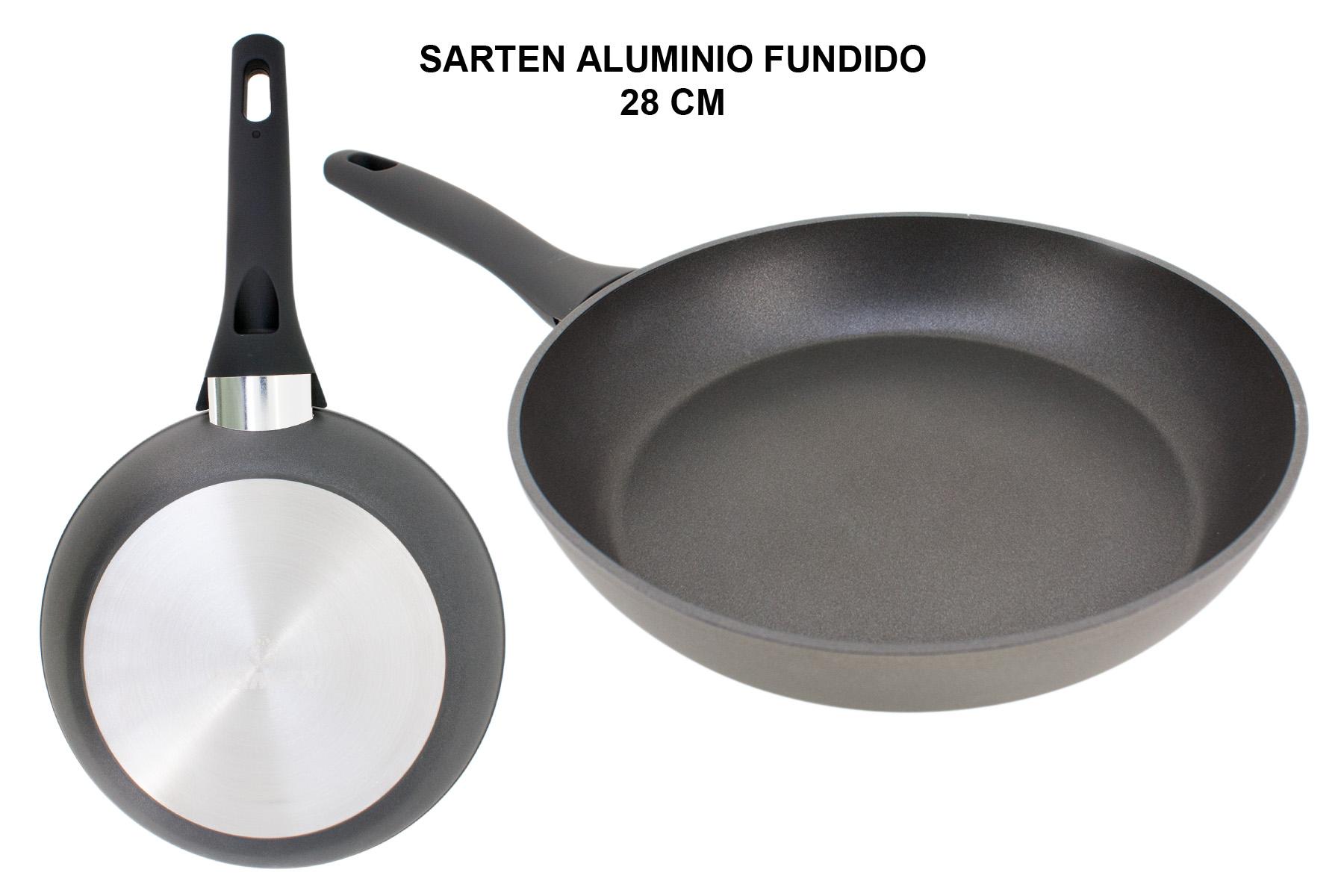 SARTEN ALUMINIO FUNDIDO FULL INDUCTION 28 CM