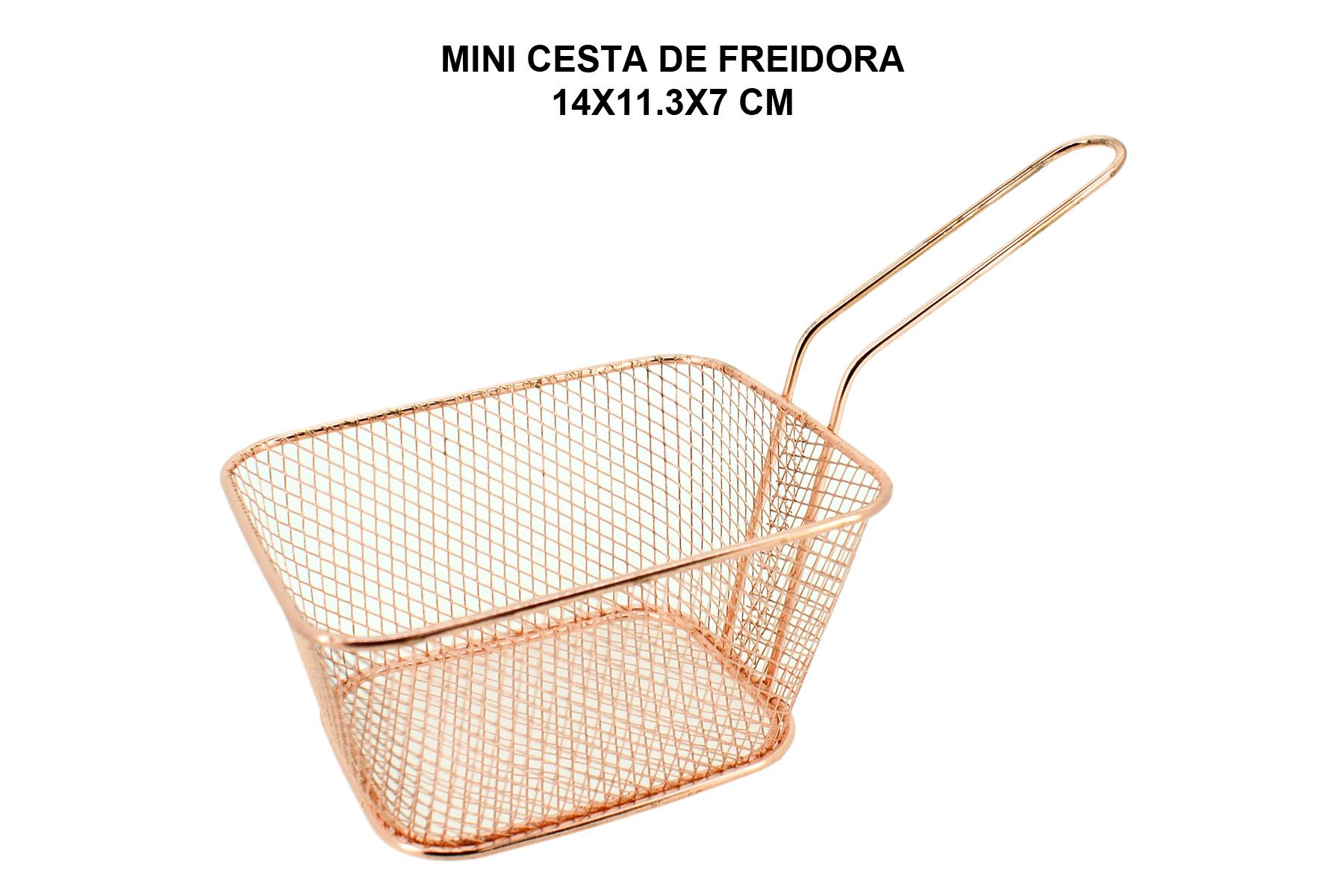 MINI CESTA DE FREIDORA 14X11.3X7 CM