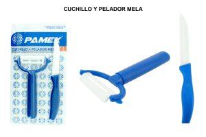 CUCHILLO Y PELADOR MELA
