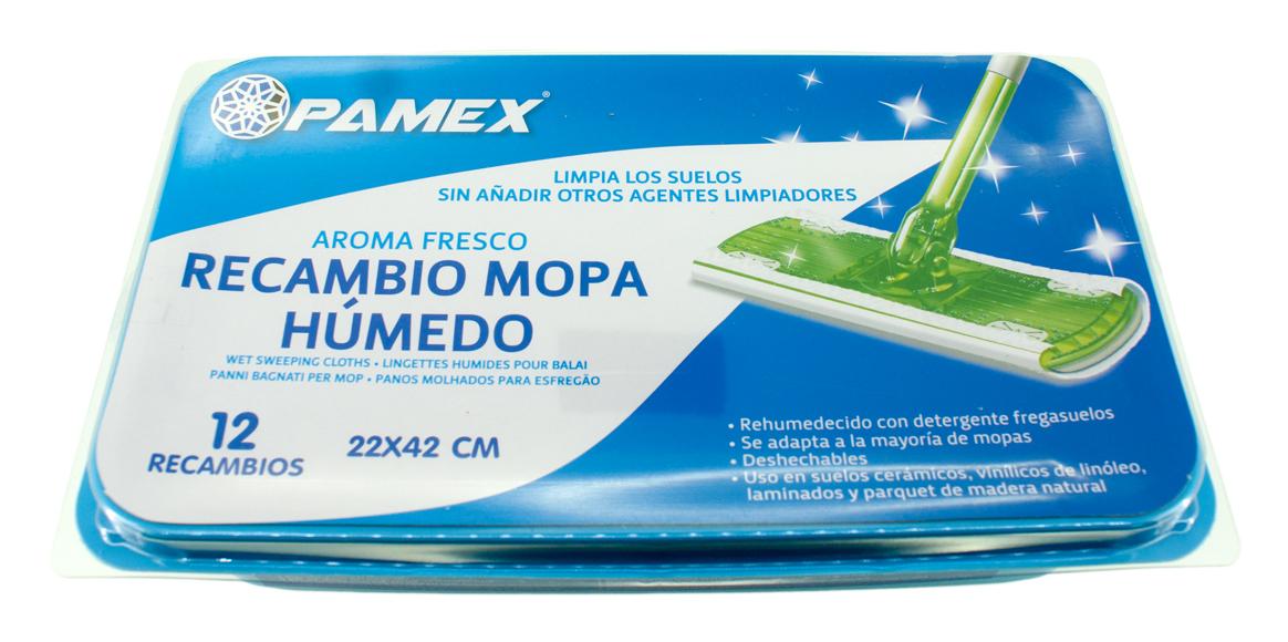 RECAMBIO MOPA HUMEDO 22X42 CM SET 12