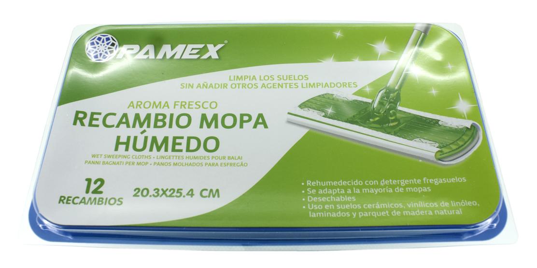 RECAMBIO MOPA HUMEDO 20.3X25.4 SET 12