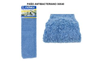 PAÑO ANTIBACTERIANO AZUL 38X40