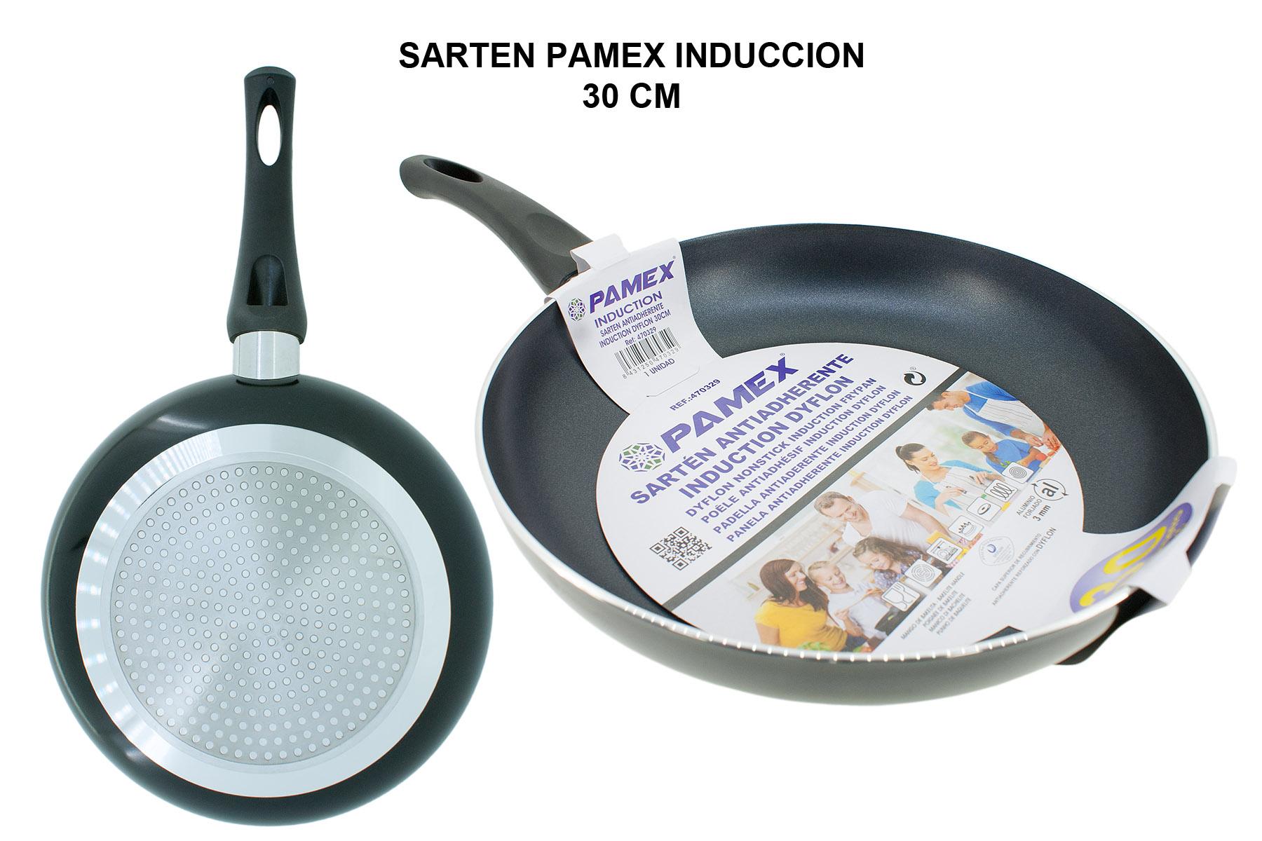 SARTEN PAMEX INDUCCION 30 CM
