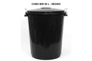 CUBO BIN 50 L - NEGRO