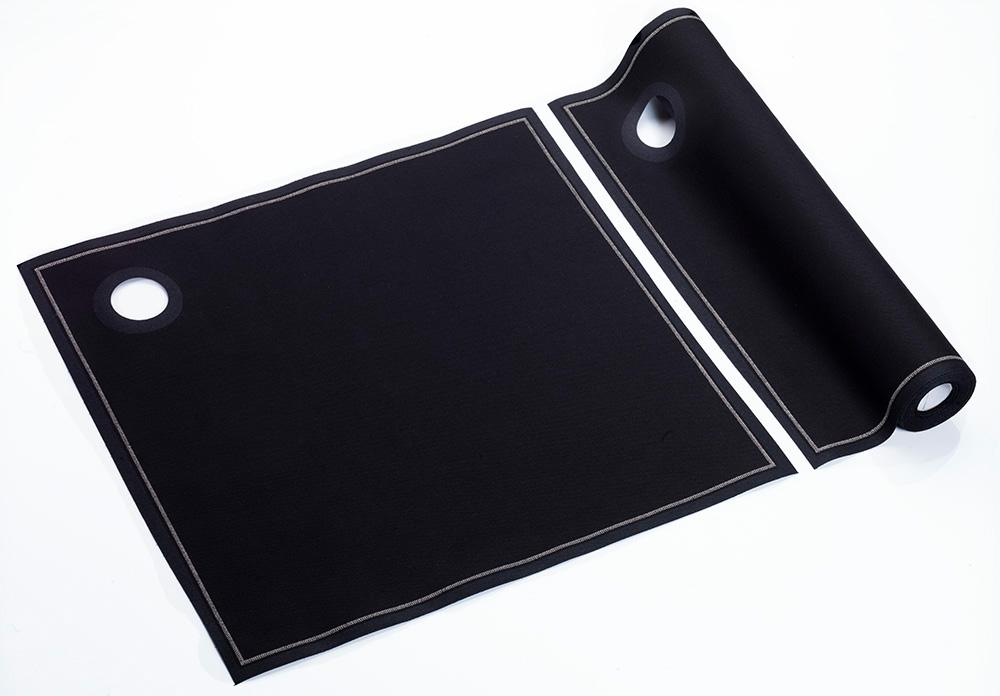 ROLLO CUBIDRAP 40X40 NEGRO SET 12