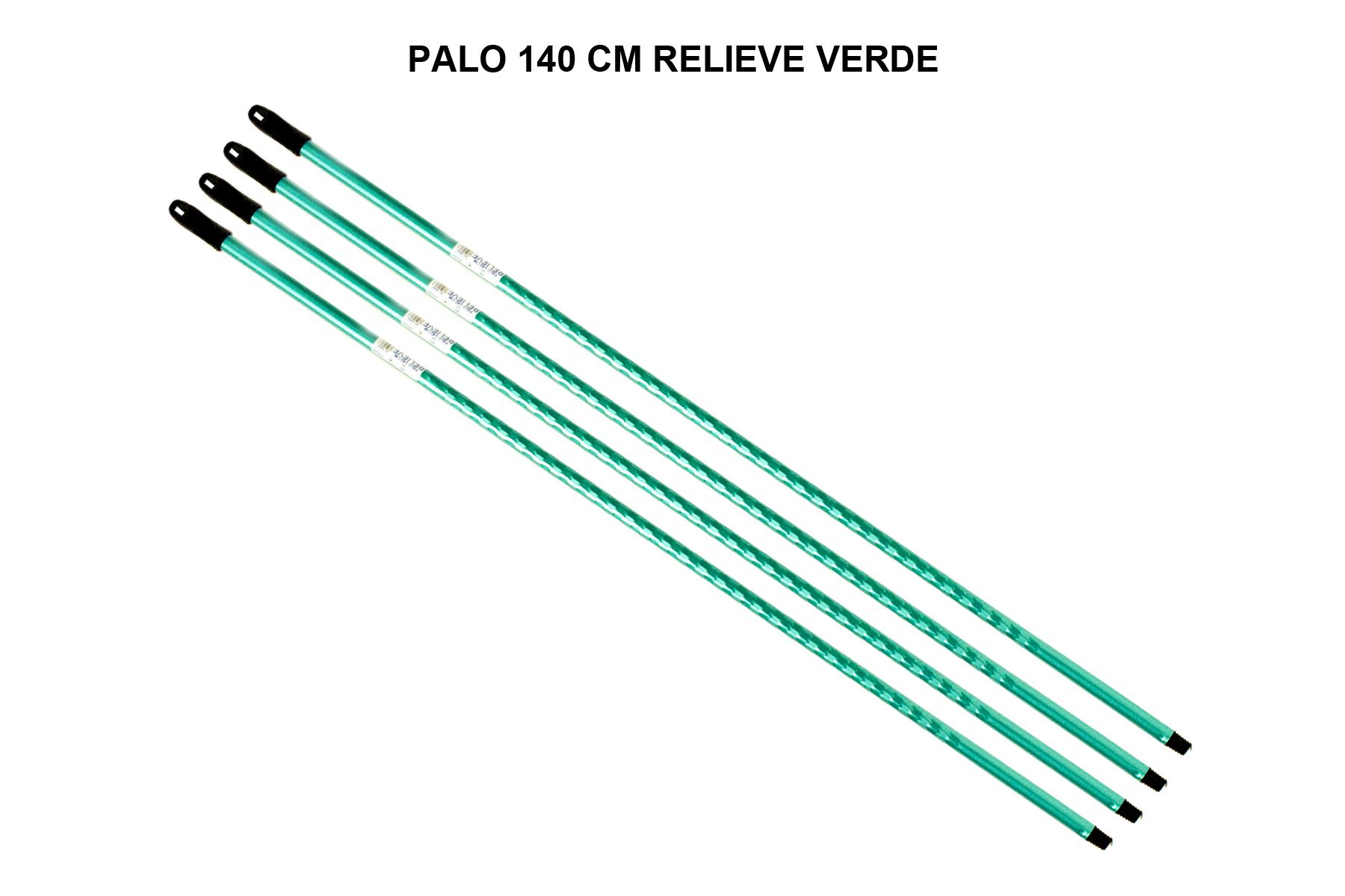 PALO 140 CM RELIEVE VERDE