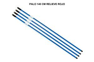 PALO 140 CM RELIEVE AZUL
