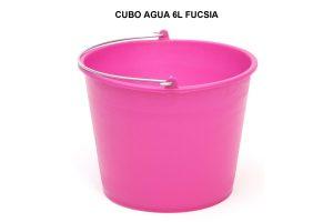 CUBO AGUA 6L FUCSIA