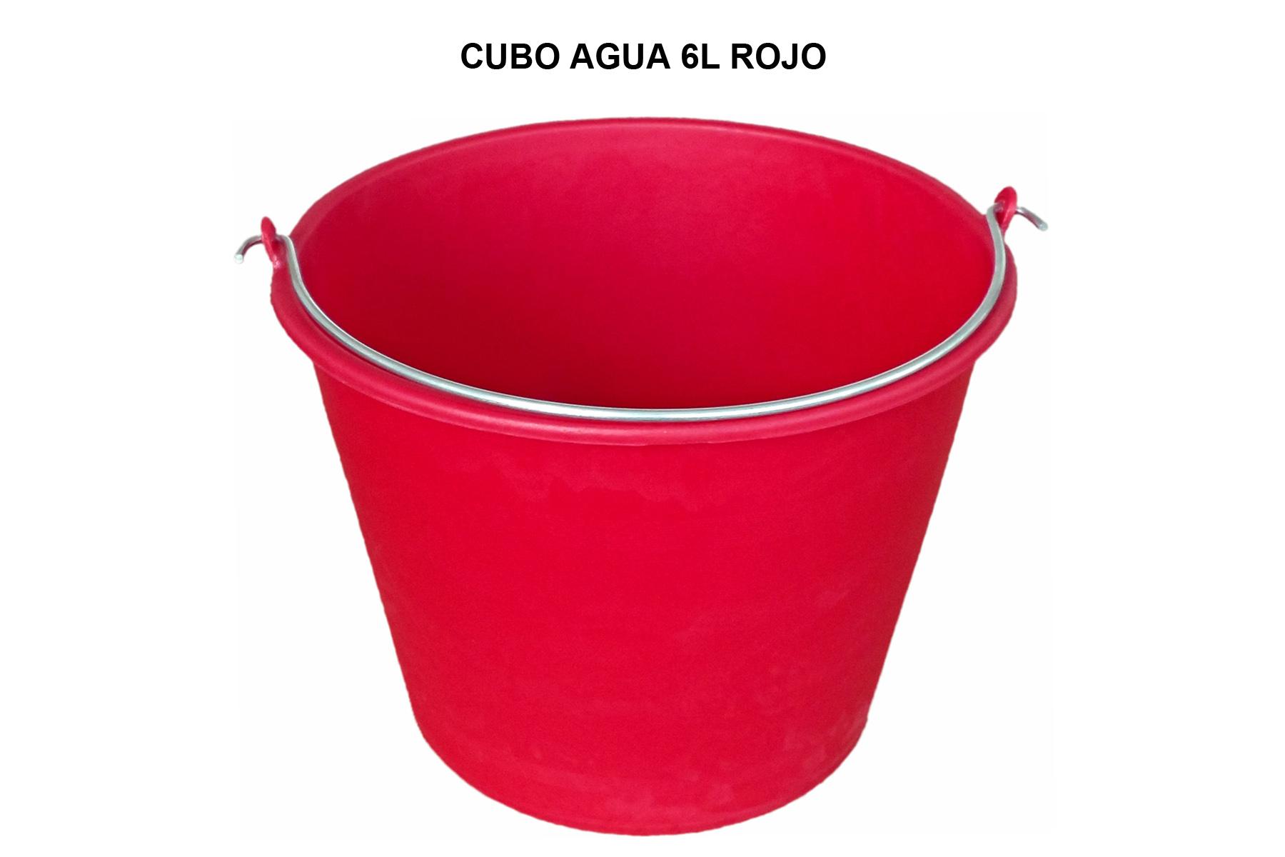CUBO 6L ROJO