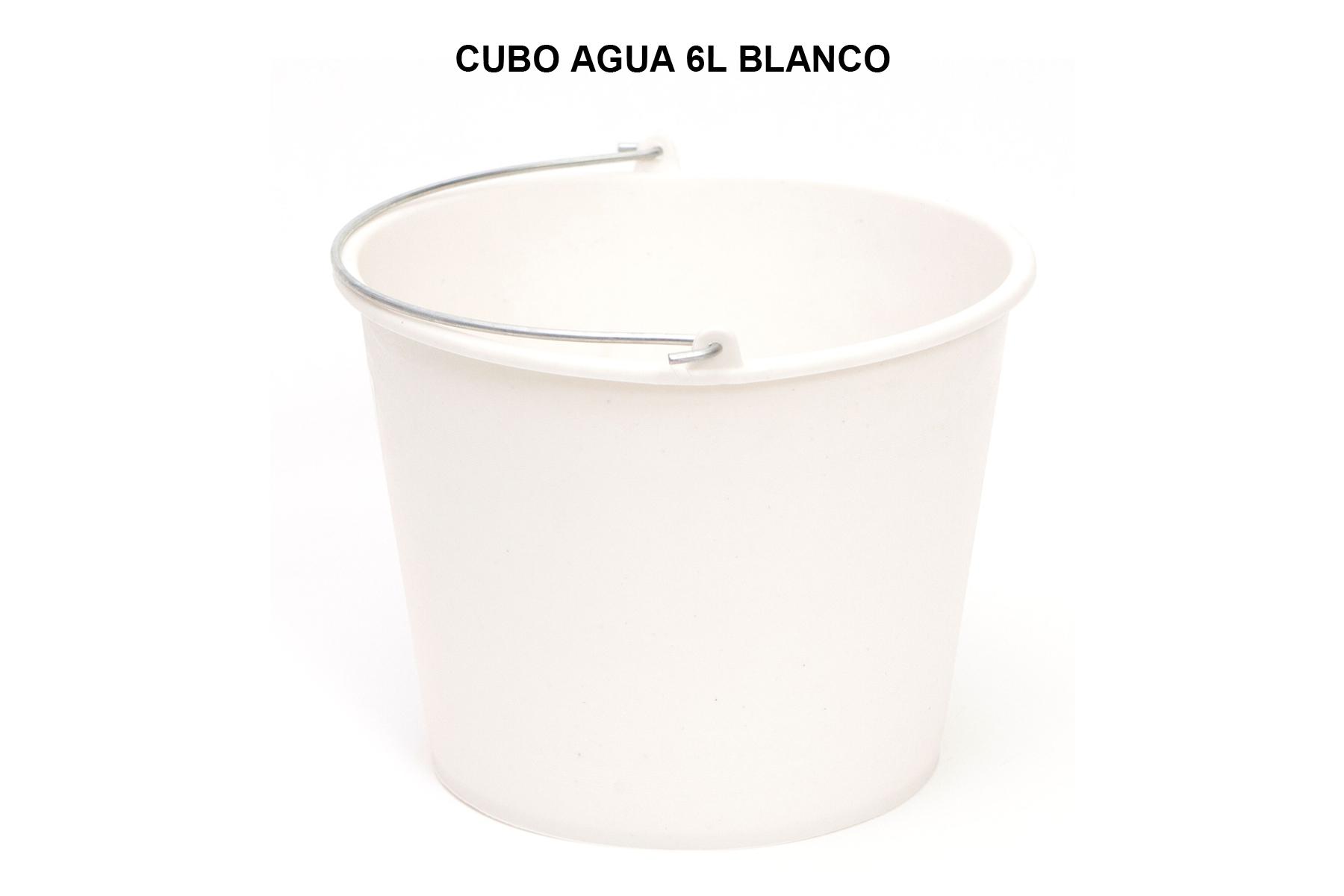 CUBO 6L BLANCO