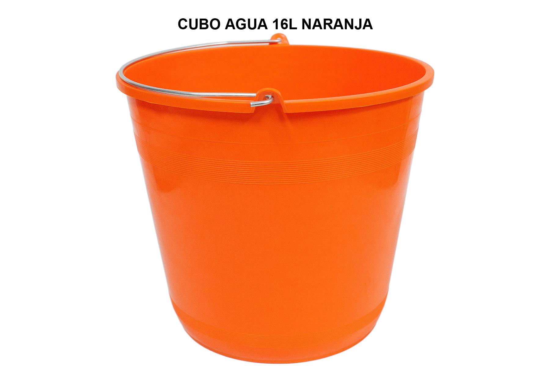 CUBO 16L NARANJA