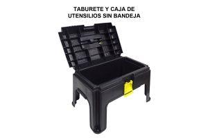 TABURETE Y CAJA DE UTENSILIOS SIN BANDEJA
