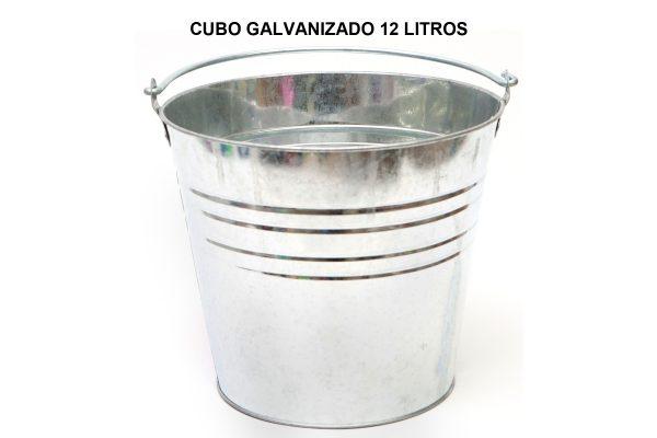 CUBO GALVANIZADO 12 LITROS
