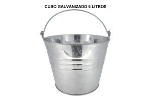 CUBO GALVANIZADO 6 L