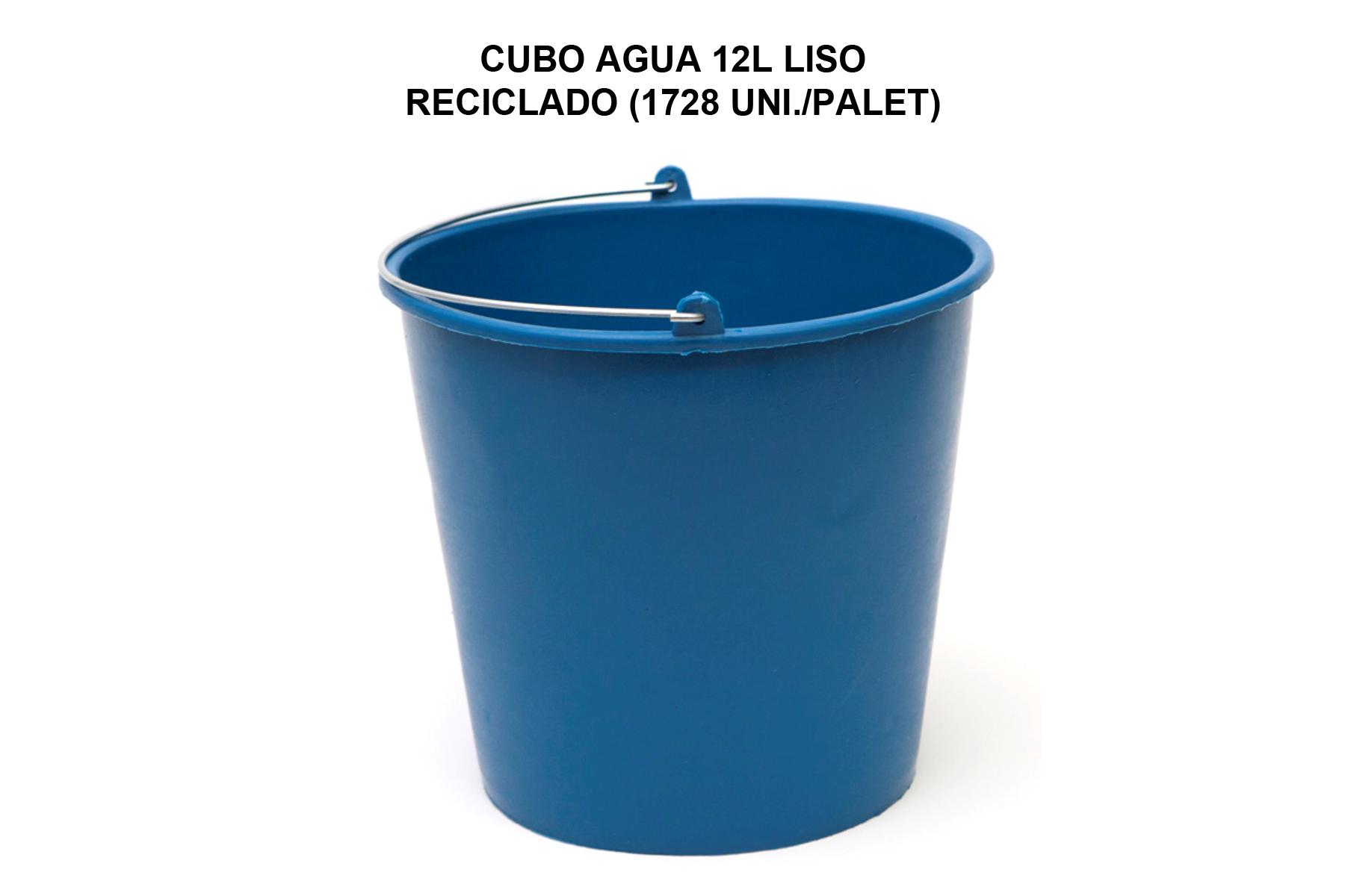 CUBO AGUA 12L LISO RECICLADO