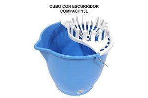 CUBO 13L COMPACT CON ESCURRIDOR