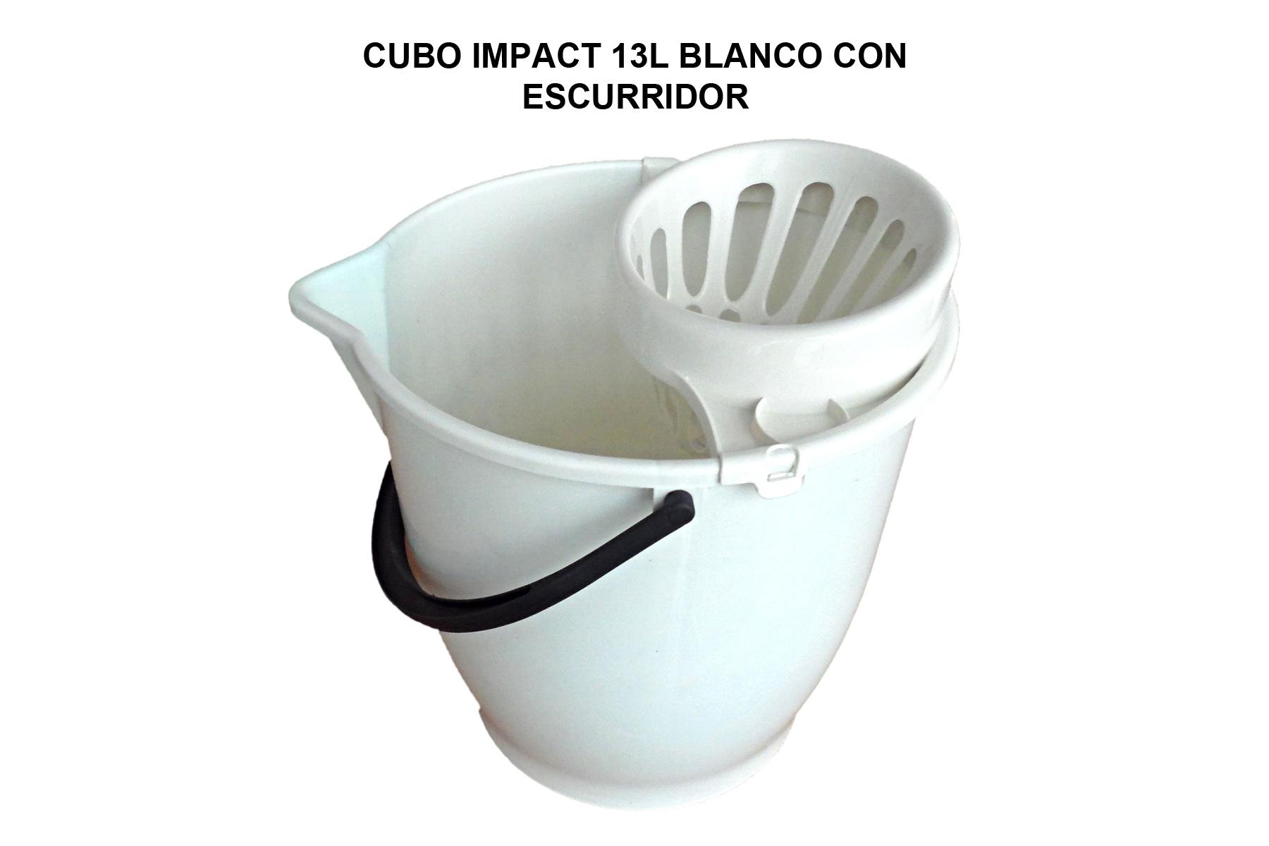 CUBO 13L IMPACT PROF. BLANCO C/ESC. BLANCO