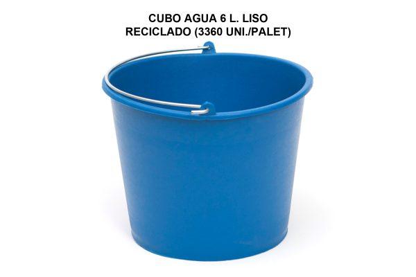 CUBO AGUA 6L LISO RECICLADO