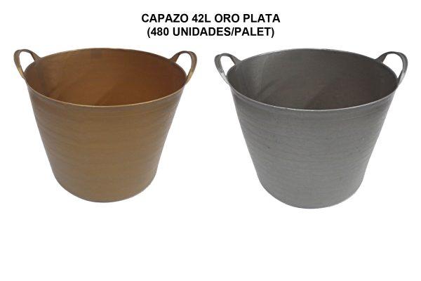 CAPAZO 42L ORO PLATA