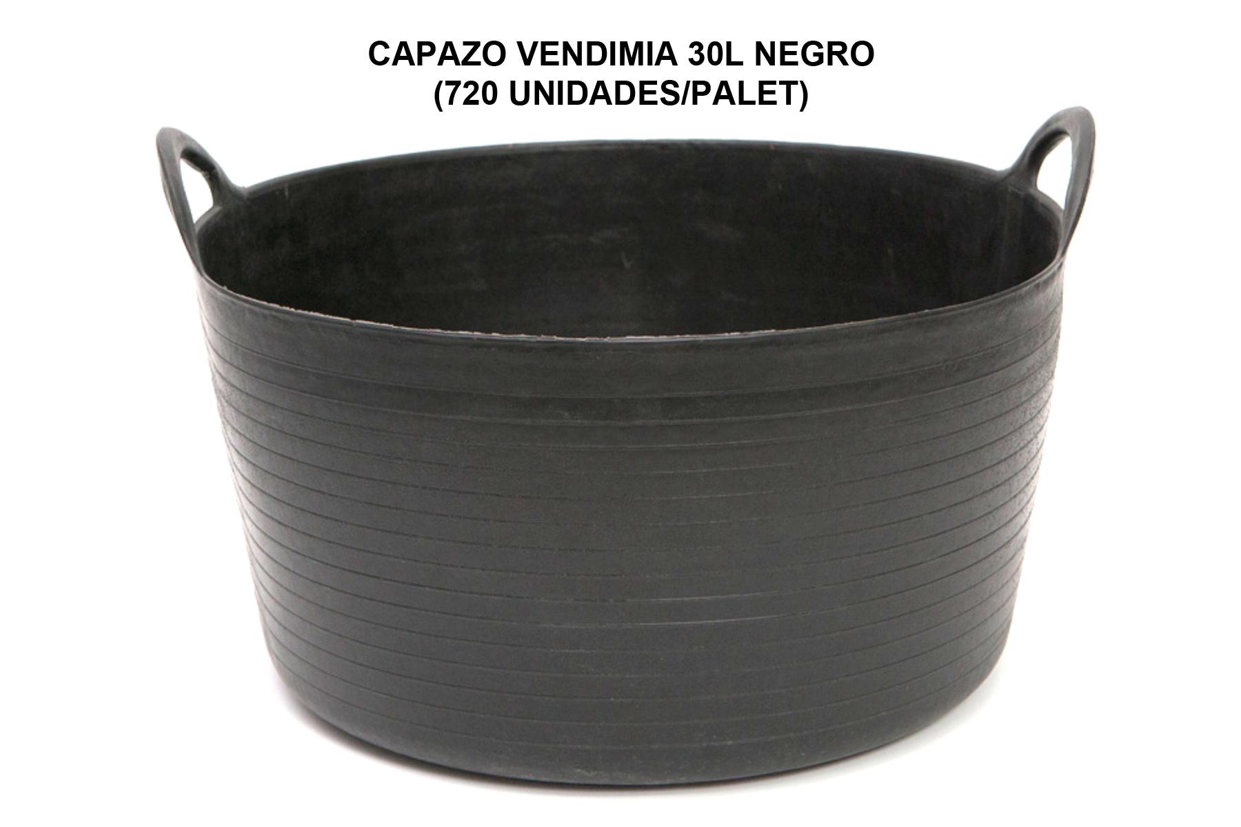 CAPAZO VENDIMIA 30L NEGRO