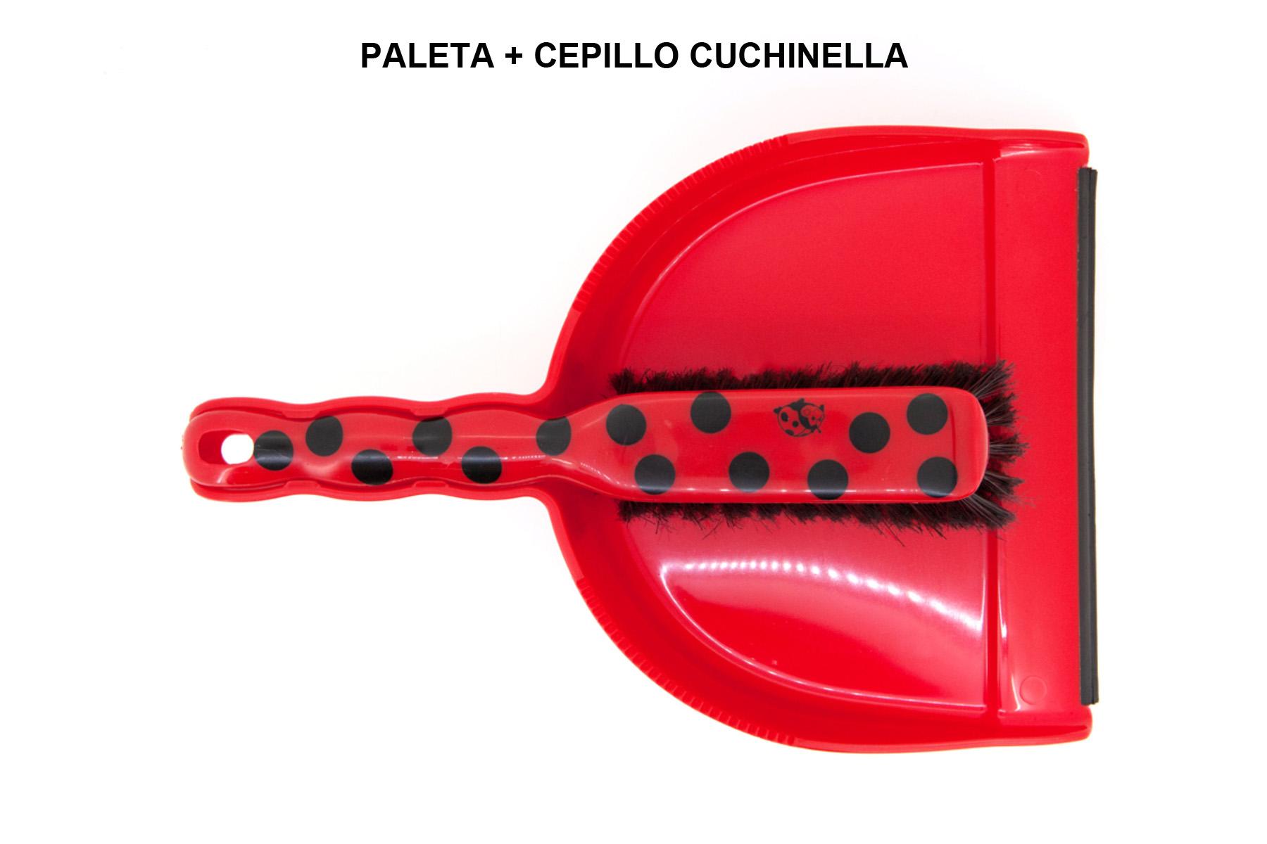 PALETA + CEPILLO CUCHINELLA
