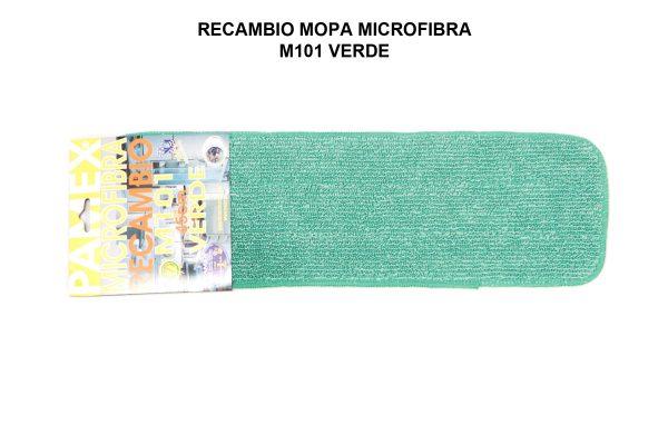 RECAMBIO MOPA MICROFIBRA M101 VERDE