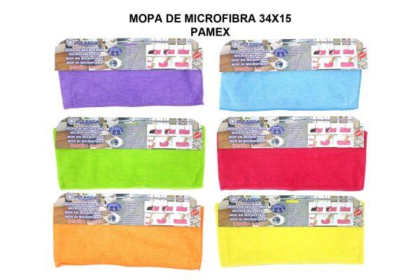 MOPA DE MICROFIBRA 34x15 PAMEX