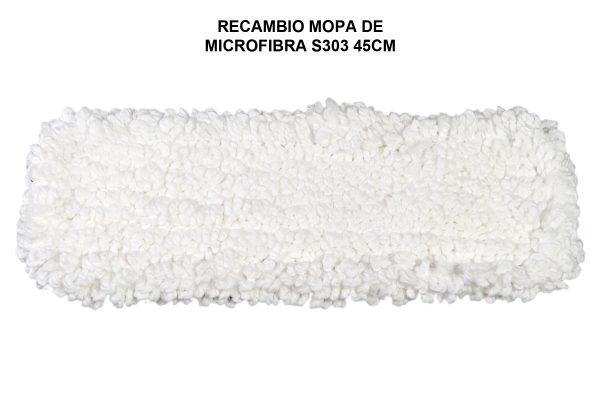 RECAMBIO MOPA DE MICROFIBRA S303 45CM