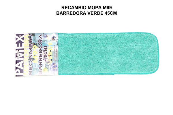 RECAMBIO MOPA M99 BARREDORA VERDE 45CM