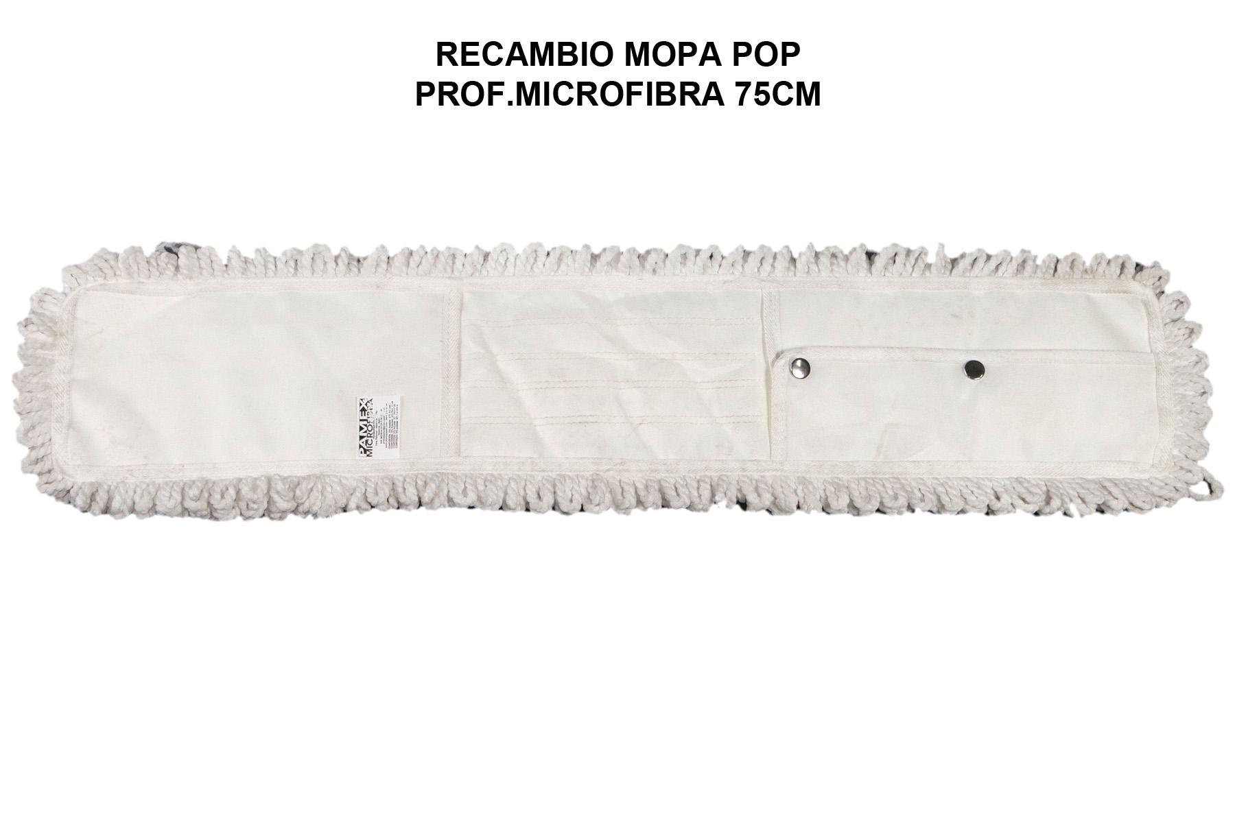 RECAMBIO MOPA POP PROF.MICROFIBRA 75CM