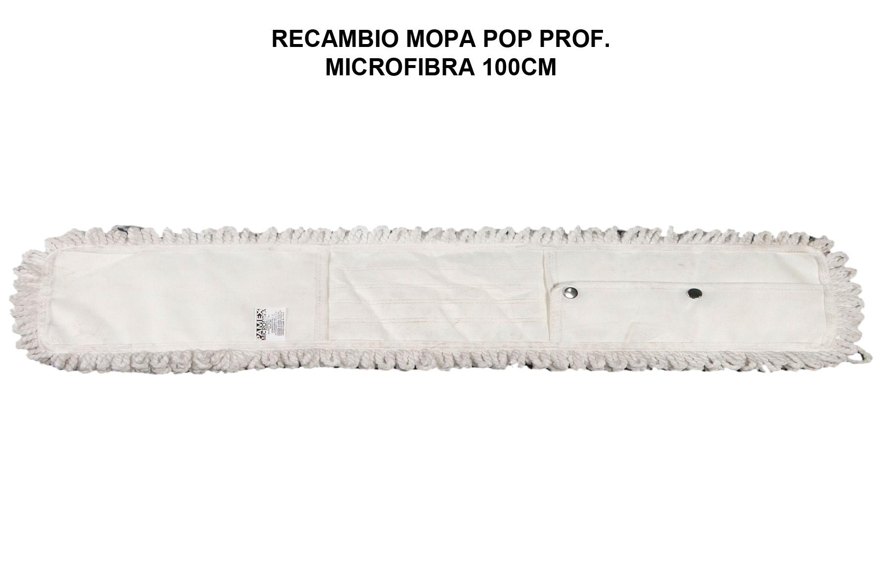 RECAMBIO MOPA POP PROF. MICROFIBRA 100CM