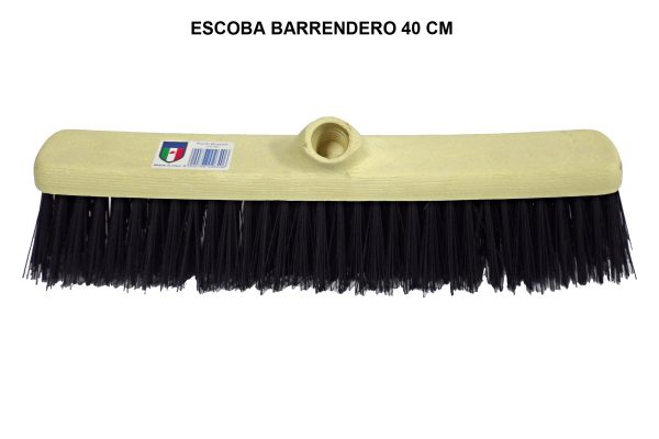ESCOBA BARRENDERO 40 CM