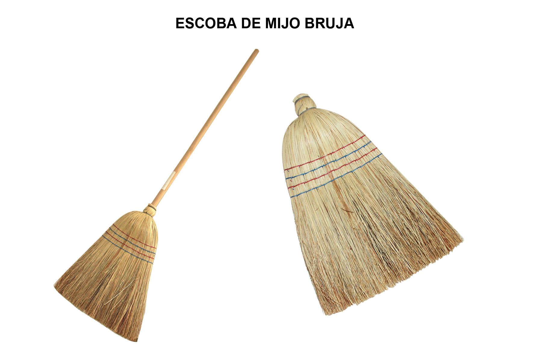 ESCOBA DE MIJO BRUJA
