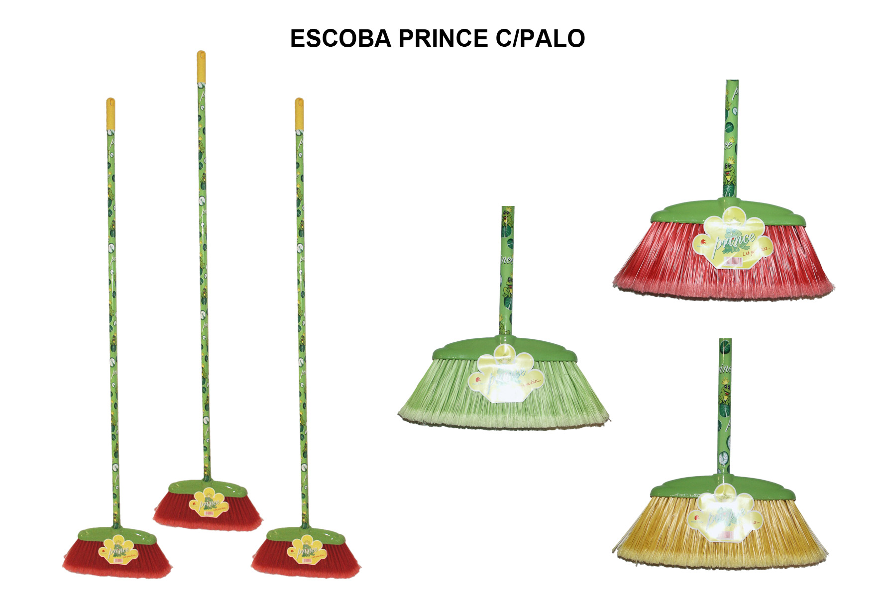 ESCOBA PRINCE C/PALO
