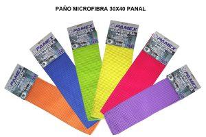PAÑO MICROFIBRA 30 X 40 PANAL