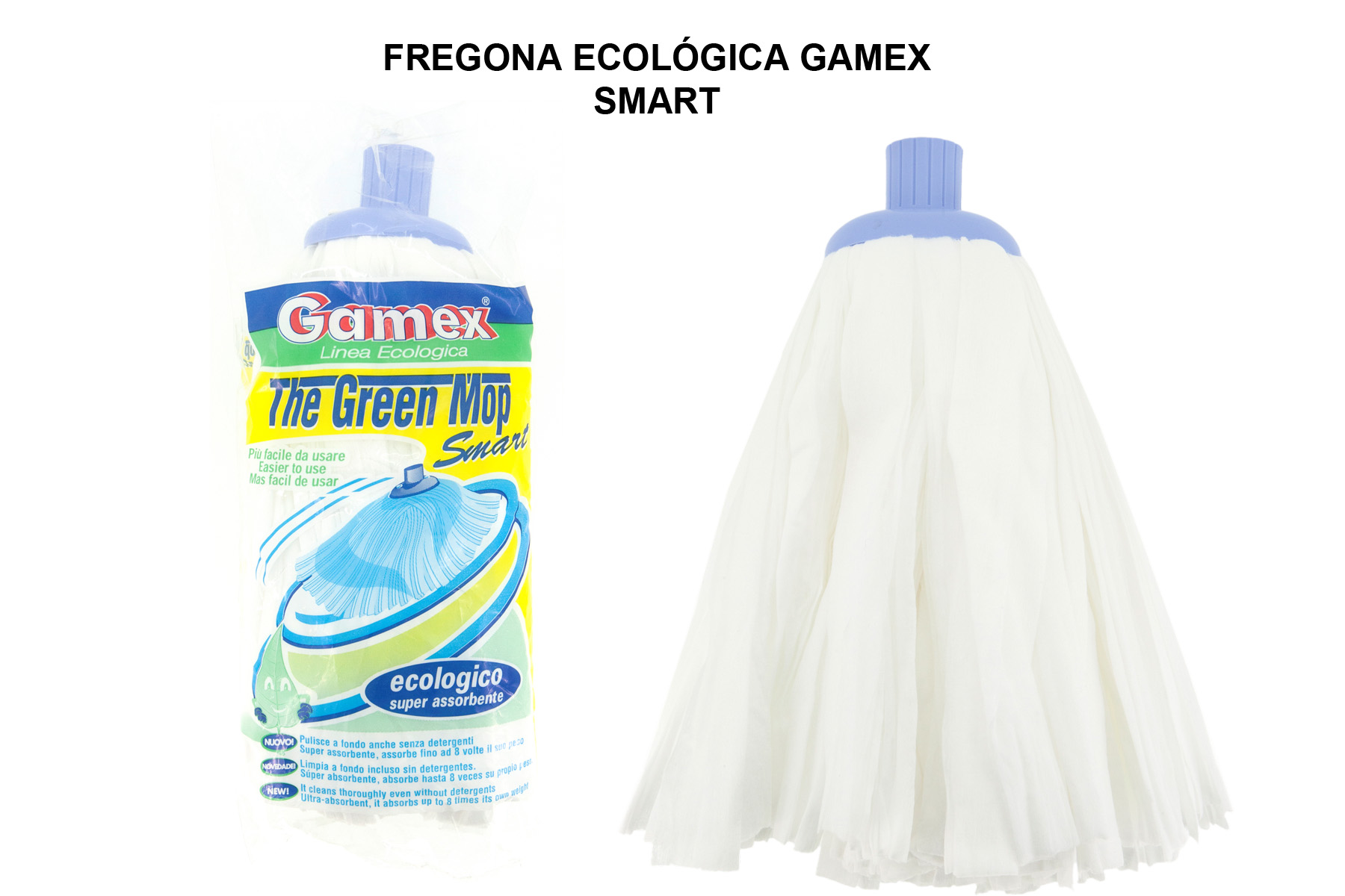 FREGONA ECOLOGICA GAMEX SMART