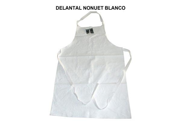 DELANTAL NONUET BLANCO